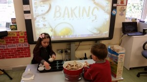 We loved making Rice Krispie buns.